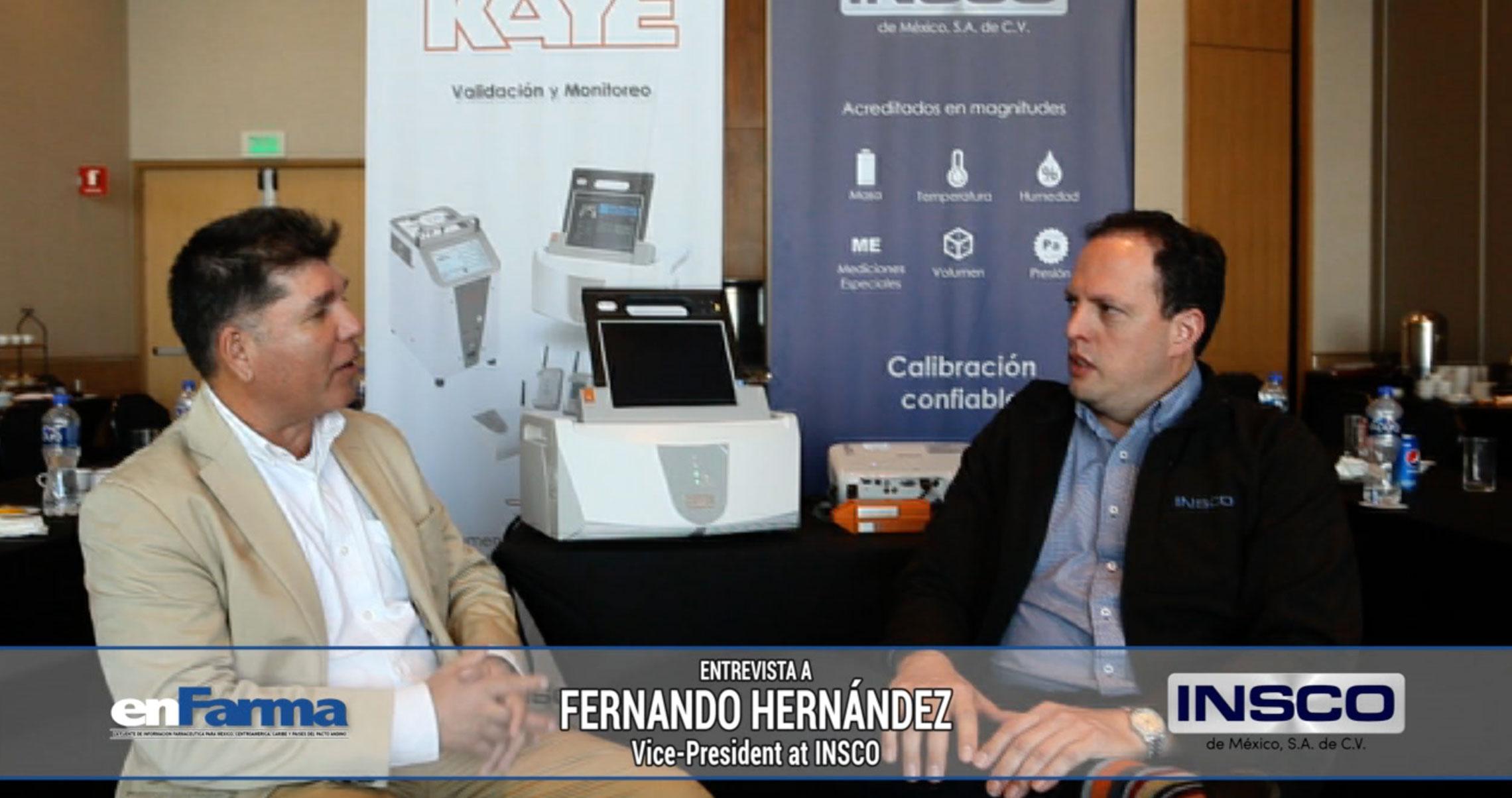 Entrevista a Fernando Hernández - VicePresident at INSCO