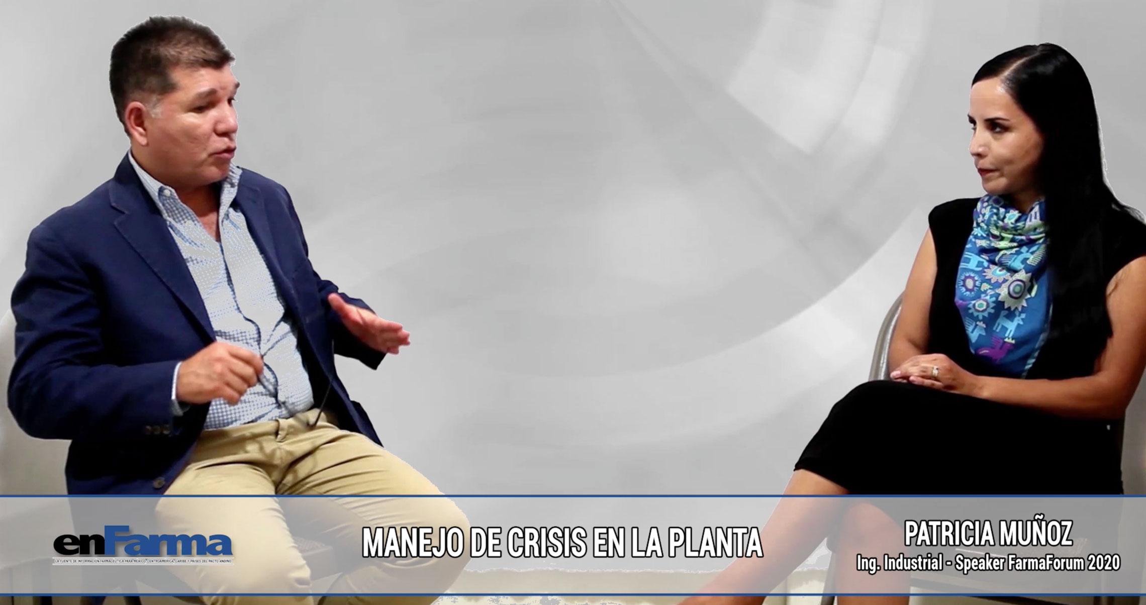 Entrevista a Patricia Muñoz - Speaker FarmaForum