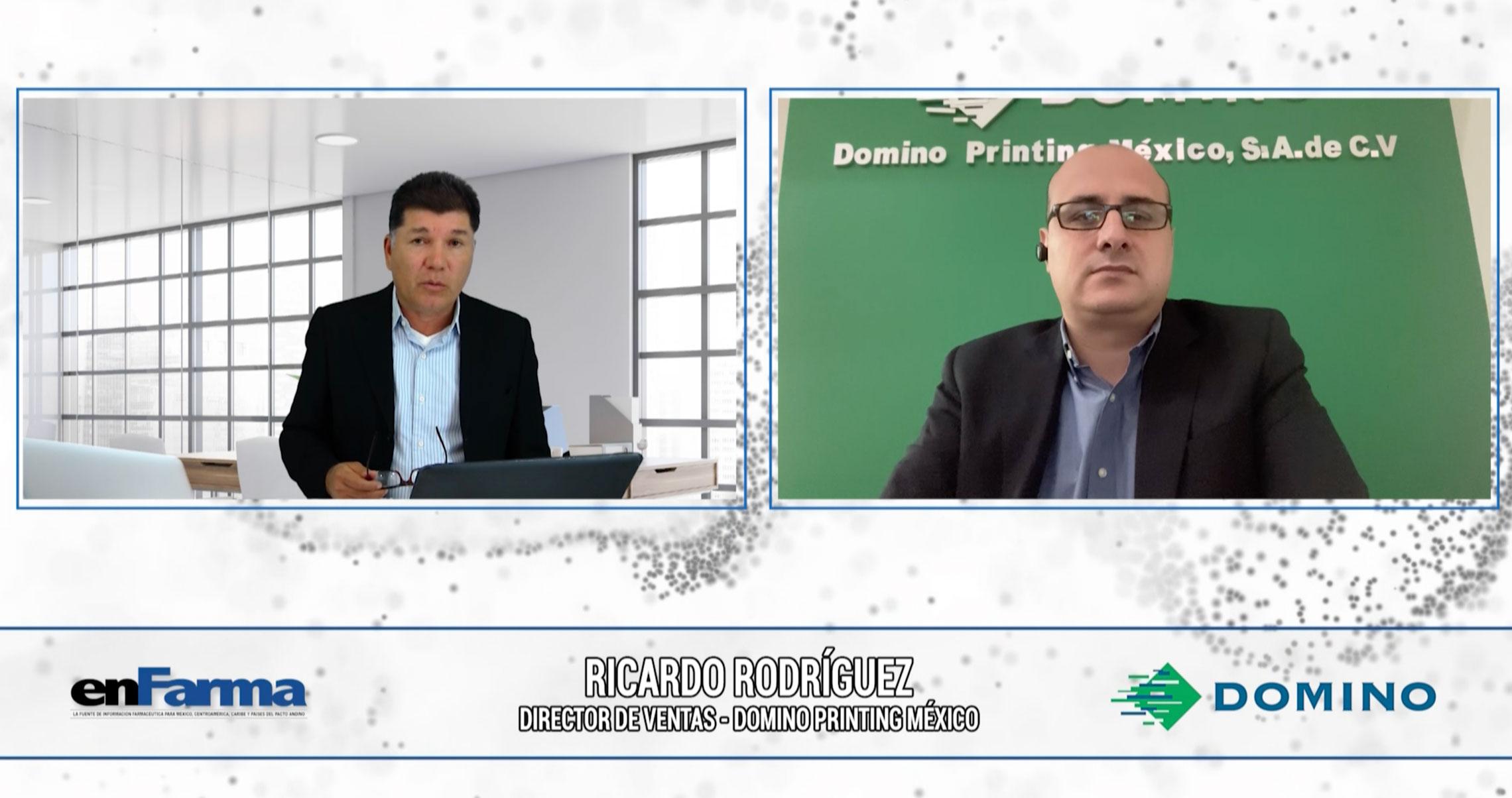 Entrevista a Ricardo Rodríguez - Director de Ventas Domino Printing México
