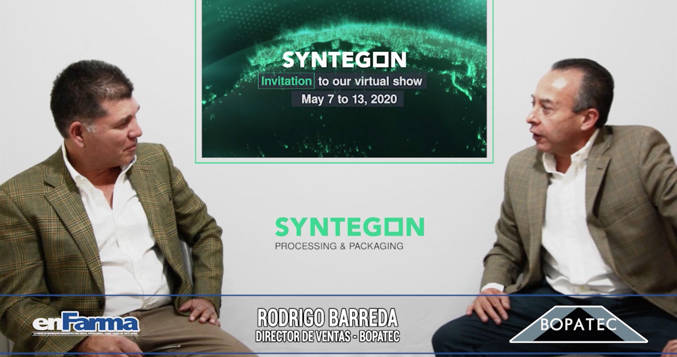 Entrevista a Rodrigo Barreda - Bopatec / Syntegon
