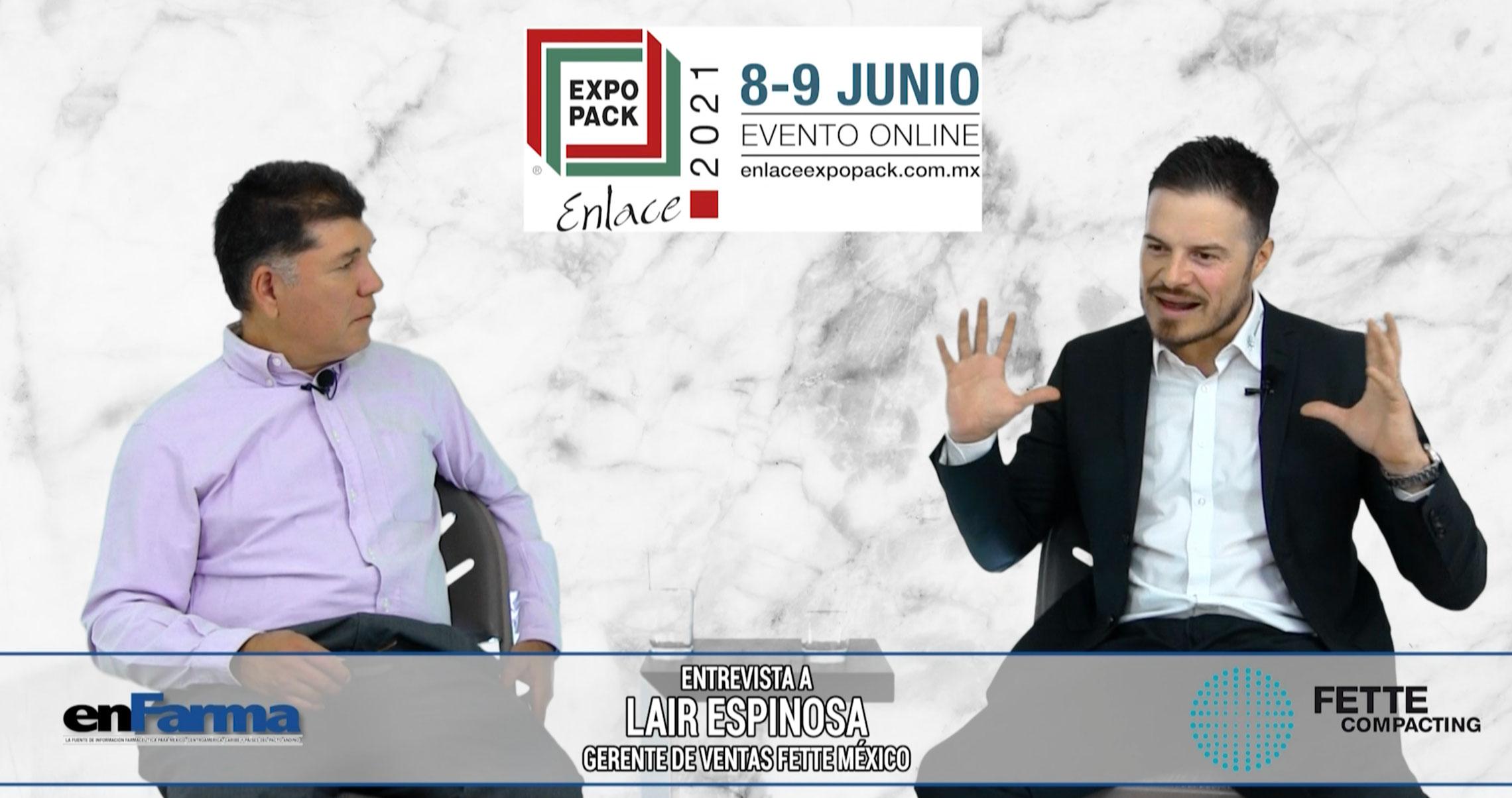 Conversamos  de manufactura continua y PAT con Lair Espinosa de FETTE