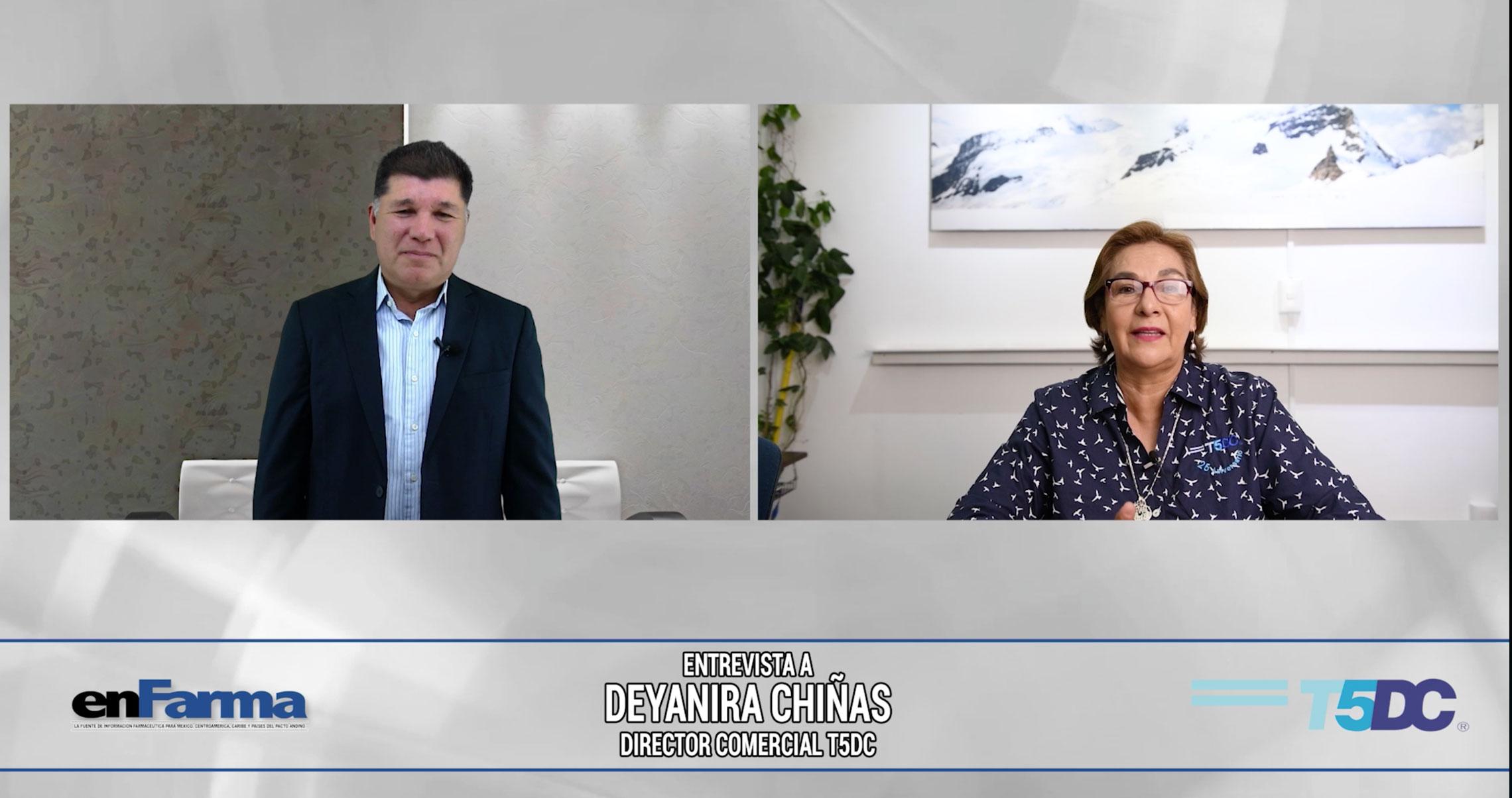 Entrevista a Deyanira Chiñas - Directora Comercial T5DC