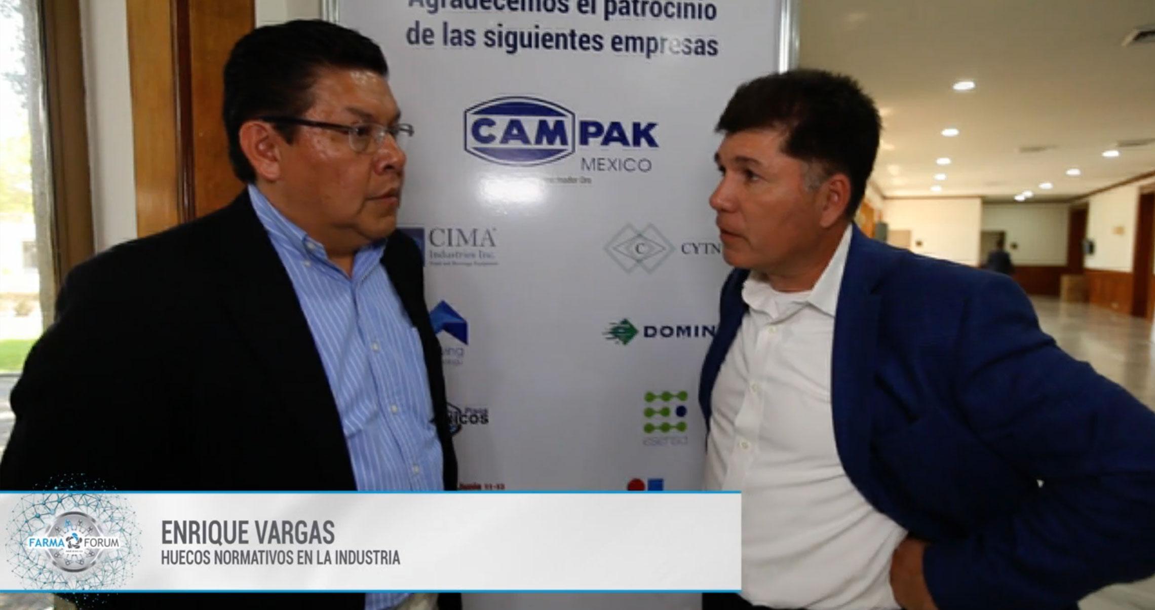 Enrique Vargas en el FarmaForum 2019