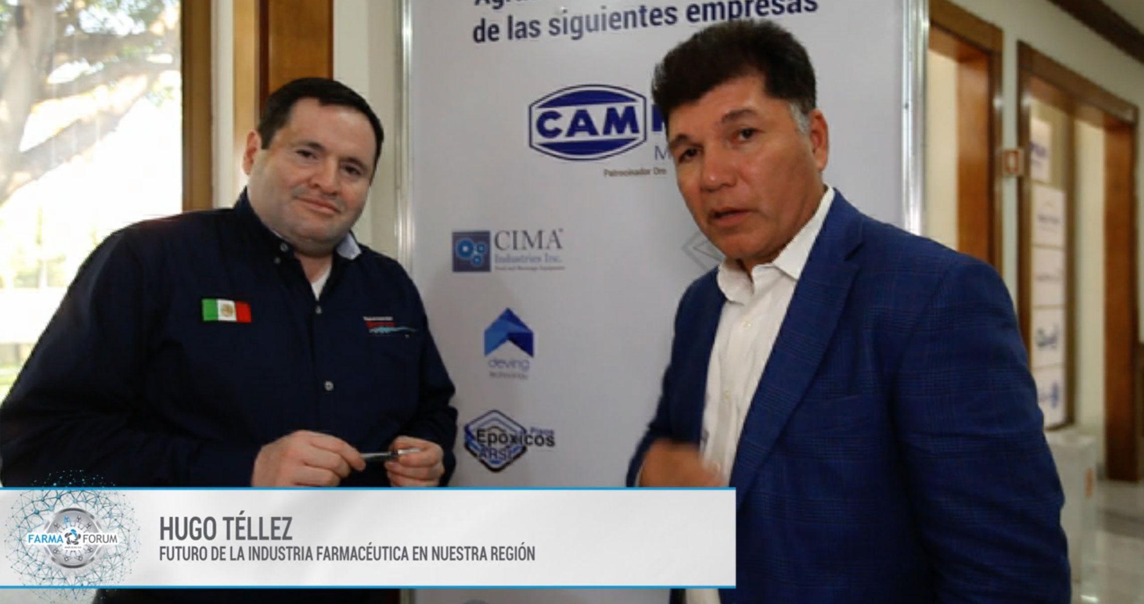 Hugo Téllez en el FarmaForum 2019