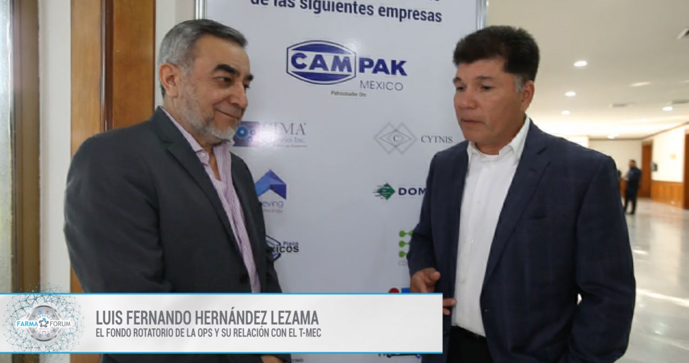 Luis Fernando Hernández en el FarmaForum 2019