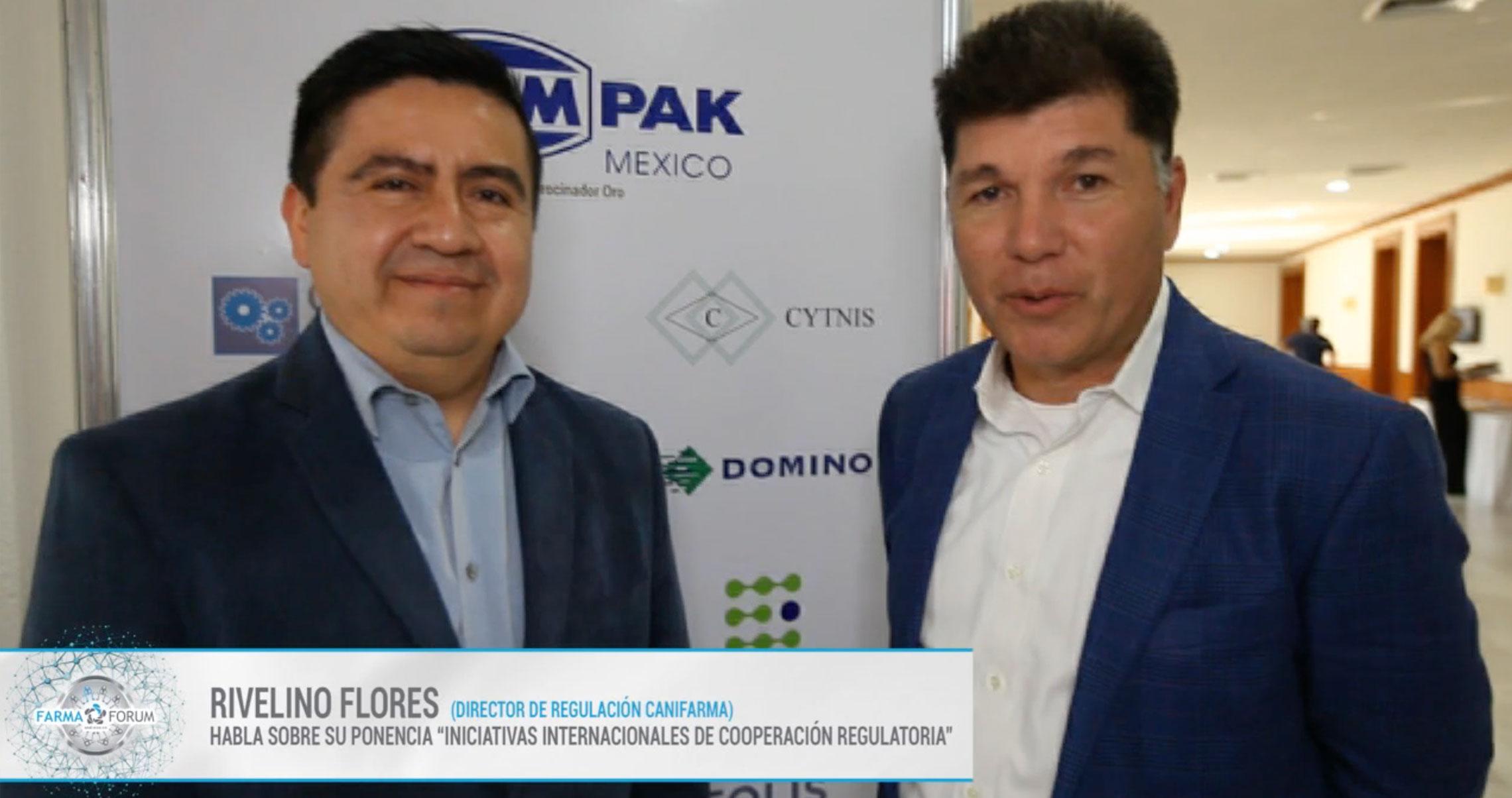 Rivelino Flores en el FarmaForum México 2019